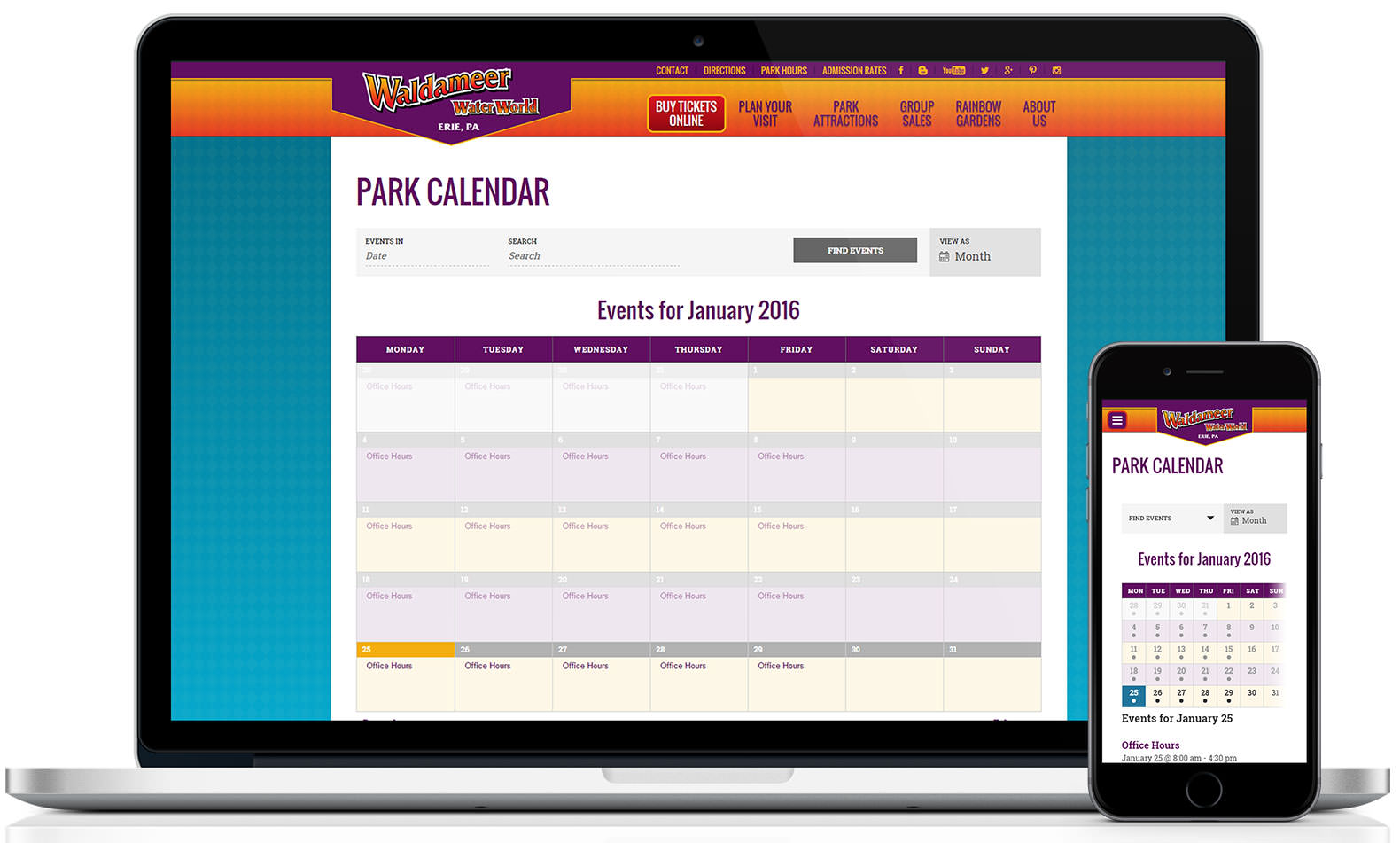 Google Calendar Responsive Design : Responsive calendar events key resource for site